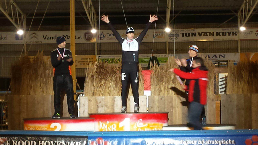 Mario Hagen, nedelands kampioen masters 2016